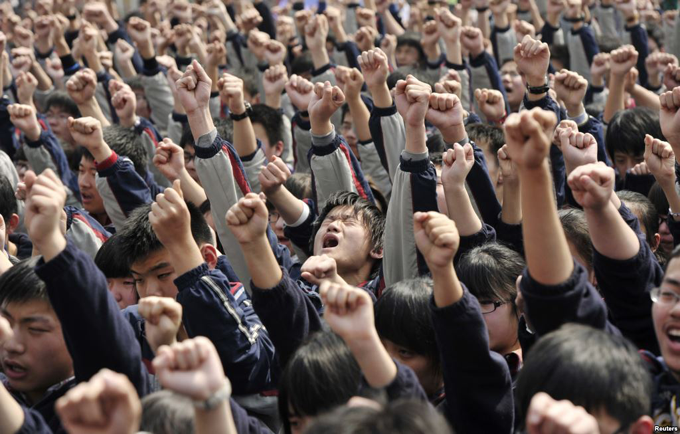 Education In China Reforms Spark Protest